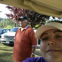 Photo taken at Adams springs golf Course by Stephanie S. on 6/5/2014