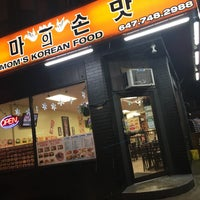 Foto tirada no(a) Mom's Korean Restaurant por Jennifer 8. L. em 5/5/2017