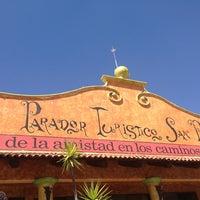 Photo taken at Parador Turístico San Pedro by Mily S. on 3/29/2013