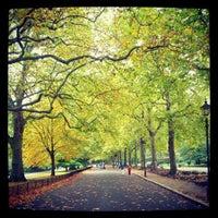 Photo taken at Battersea Park by Roman K. on 10/20/2012