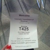 Photo taken at DMV by Vanessa W. on 1/25/2013