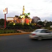 Photo taken at Rotonda San Jerónimo by Sairxio M. on 3/11/2013