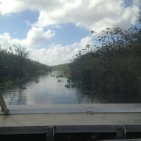 Photo taken at Coopertown Air Boat by Alicia R. on 1/9/2013