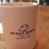 Photo taken at Buddy Brew Coffee by Hillary M. on 7/28/2013