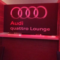 Photo taken at Audi Quattro Lounge by R L. on 7/5/2015