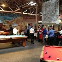 Photo taken at South First Billiards by Eugene W. on 12/6/2012