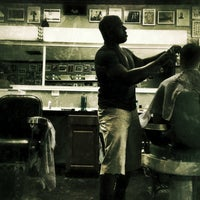 Photo taken at Hermosa Barbershop by Mike O. on 5/18/2013