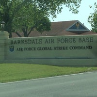 Photo taken at Barksdale Air Force Base by Ross J. on 4/26/2014