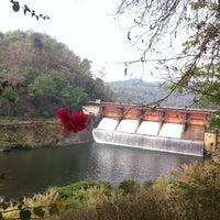 Photo taken at Kiu Lom Dam by Jinny J. on 4/12/2013