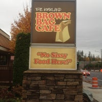 Photo taken at Brown Bag Cafe by @MiVidaSeattle on 11/3/2012