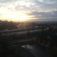 Photo taken at Tukwila International Blvd Station by @MiVidaSeattle on 11/5/2012