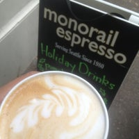 Photo taken at Monorail Espresso by @MiVidaSeattle on 11/8/2012
