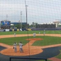 Photo taken at FIU Baseball Stadium by Joe M. on 3/31/2017