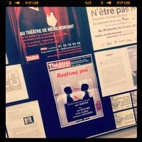 Photo taken at Théâtre de Ménilmontant by Isabelle P. on 1/16/2013