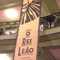 Photo taken at Teatro Renault by Karina L. on 7/17/2013