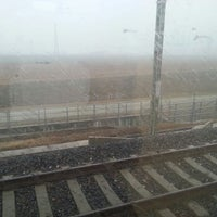 Photo taken at Frecciarossa Torino P. N. - Milano C.le by Luca R. on 2/21/2013