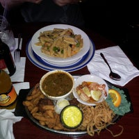 Photo taken at Prudhomme's Lost Cajun Kitchen by Tracey on 4/7/2013
