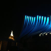 Photo taken at Notre Dame du Liban Harissa by Matthieu T. on 6/5/2013