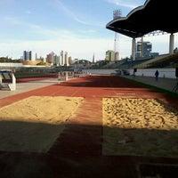 Photo taken at Estádio Willie Davids by Fernanda I. on 9/28/2012