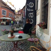 Photo taken at Egon Schiele Café by Raul L. on 7/15/2013