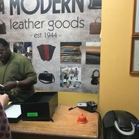 Photo taken at Modern Leather Goods & Repair by Sean F. on 7/7/2017