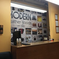 Photo taken at Modern Leather Goods & Repair by Sean F. on 8/4/2016