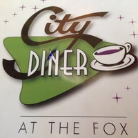 Photo taken at City Diner at the Fox by Kirk M. on 3/23/2014