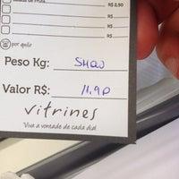 Photo taken at Restaurante Vitrines by Raffaele L. on 3/18/2014