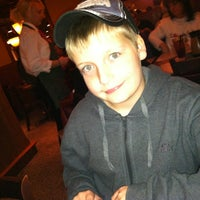 Photo taken at Demos' Restaurant by Crystal S. on 12/21/2012