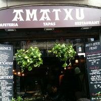 Photo taken at Amatxu by Miojo L. on 2/18/2013