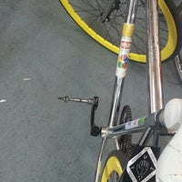 Photo taken at Open Road Bicycle Shop by Asa J. on 4/21/2013
