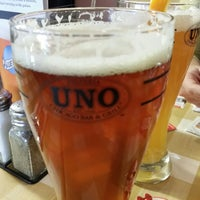 Photo taken at Uno Pizzeria & Grill - Holyoke by Guy B. on 12/7/2014