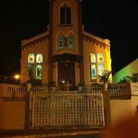 Photo taken at Matriz Nossa Senhora De Lourdes by Flávia A. on 9/14/2014