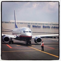 Photo taken at Mexico City International Airport (MEX) by Corpus M. on 7/15/2013