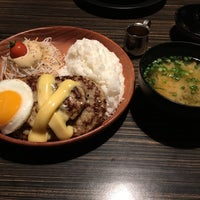Photo taken at びっくりドンキー 竜ヶ崎店 by neo_cybers on 1/15/2016