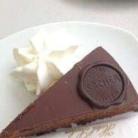 Photo taken at Café Sacher by Svetlana J. on 9/20/2012