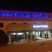 Photo taken at Samsun Çarşamba Airport (SZF) by Taşkın T. on 12/1/2012