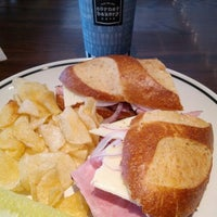 Photo taken at Corner Bakery by Mike H. on 9/19/2012