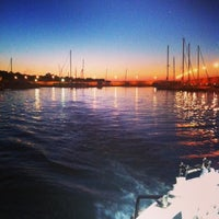 Photo taken at Porto di Roccella Ionica by Elif E. on 7/12/2014