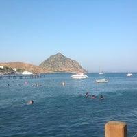 Photo taken at Parıltı Beach by Selin D. on 8/13/2013