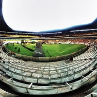 Photo taken at Estadio Jalisco by Jorge R. on 6/2/2013