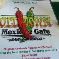 Photo taken at Old Town Mexican Cafe by Jon B. on 3/12/2014