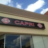 Photo taken at Capri Pizza & Pasta by Jeff G. on 5/17/2014