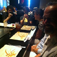 Photo taken at Kobe Teppan & Sushi - Frisco by Kelley C. on 6/17/2013
