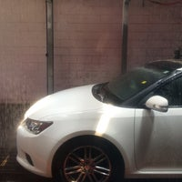Photo taken at National City Car Wash by Ceszang P. on 8/31/2014