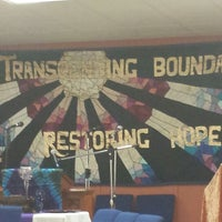 Photo taken at City of Refuge UCC Church by Denisha D. on 9/19/2013
