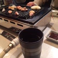Photo taken at 鶏鉄板焼き鳥司 by shinpapa on 12/27/2013