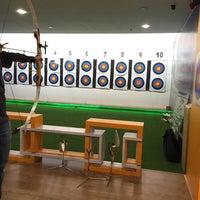 Photo taken at King's Archery Sports Centre by Jaja N. on 3/26/2016