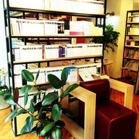 Photo taken at Book cafe 'The Story' by JiHye L. on 9/14/2013