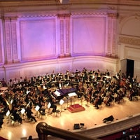 Foto tirada no(a) Stern Auditorium / Perelman Stage at Carnegie Hall por Philip R. em 5/1/2017